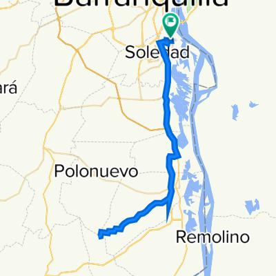 De Calle 20 36A-100–36A-2, Barranquilla a Calle 20A 36A-26, Barranquilla