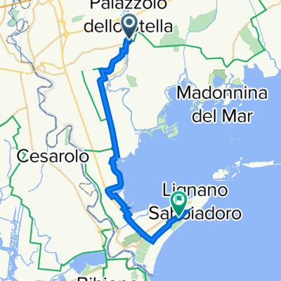 Tag 3: Piangada nach Lignano
