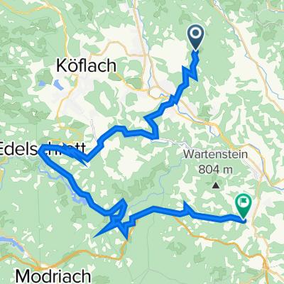 Lobmingbergstraße 48, Voitsberg nach Unterwald 9