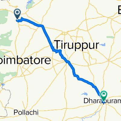 Mettupalayam Road, Ukadam to 35A, Dharapuram