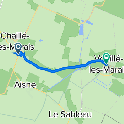 De 4 Rue de l'An VI, Chaillé-les-Marais à 2 Rue du Port d'Aisne, Vouillé-les-Marais