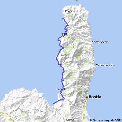 corsica: centuri port to st.  florent