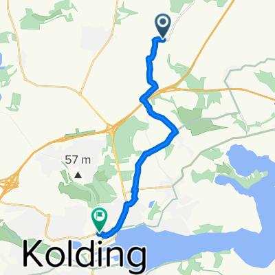 Møsvråvej, Almind to Nordre Ringvej, Kolding