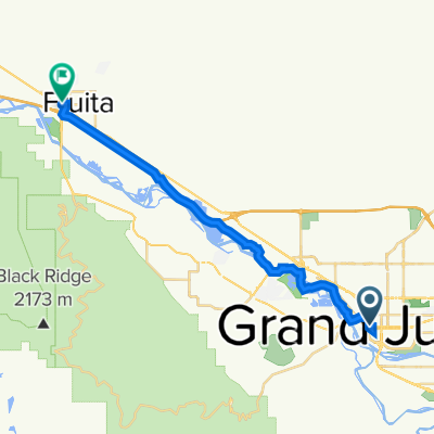 337 S First St, Grand Junction to 400–472 W Aspen Ave, Fruita