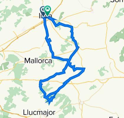 MONTUIRI-SANTUARI DE CURA-ALGAIDA