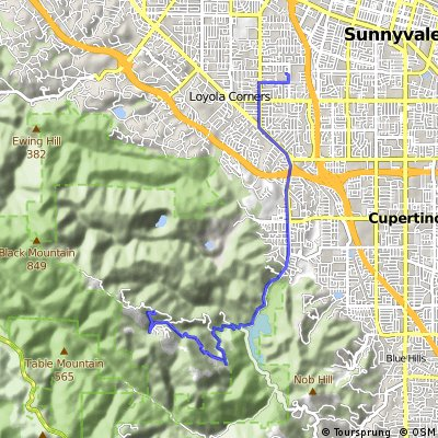 Mountain View Training Ride