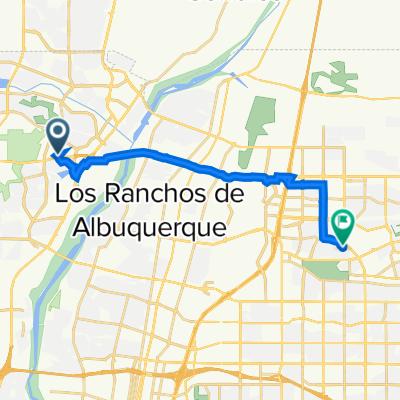 4216 Beacon Knoll Ct NW, Albuquerque to 6113 Quemado Dr NE, Albuquerque
