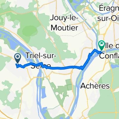 De 7 Quai Eugène le Corre, Conflans-Sainte-Honorine