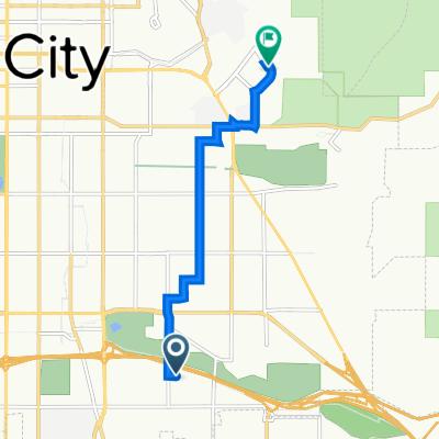1700–1798 E Hillcrest Ave, Salt Lake City to 500 S Chipeta Way, Salt Lake City