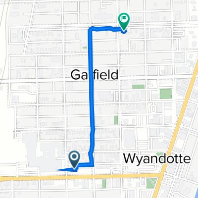 Eureka Road 470, Wyandotte to Superior Boulevard 257, Wyandotte