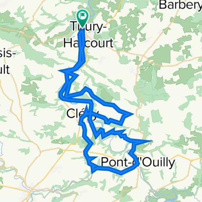 suisse normandie 58km