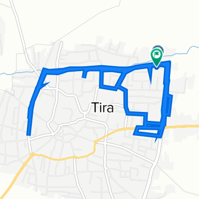 Route from Alhafair Street, Tire