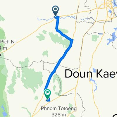 109, Krong Chbar Mon to Unnamed Road