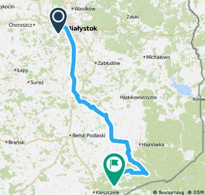 Dzień 1: Białystok - Dubicze C.