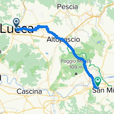 Da Lucca a San Miniato