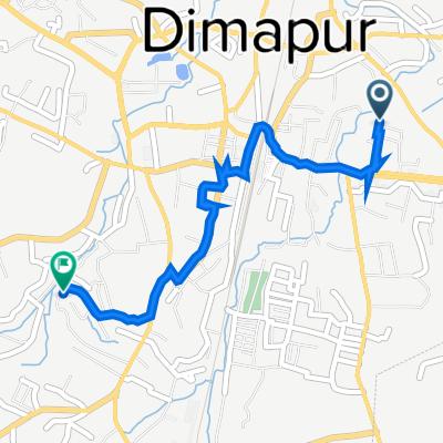 Unnamed Road, Dimapur to Sitlabari Road, Dimapur
