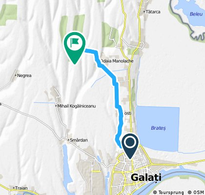 Galati - Lacul Vanatori - Costi - Vanatori - Odaia - Padurea Milos