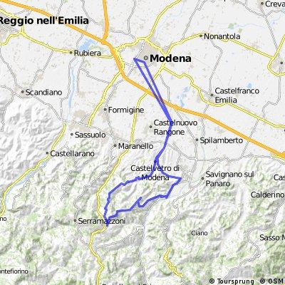 Modena - Riccò - Marano - Modena