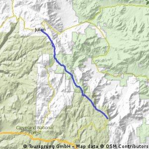 Julian to Mt Laguna