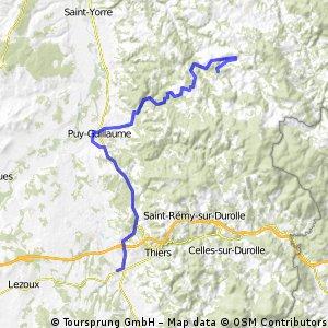 France ferrieres-sur-sichon to pont-de-dore