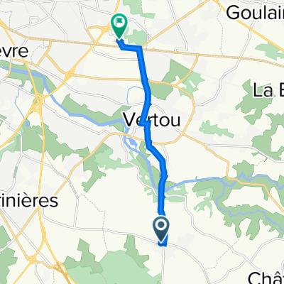 De 6 Impasse des Lilas, Vertou à 13 Rue Marie Curie, Saint-Sébastien-sur-Loire