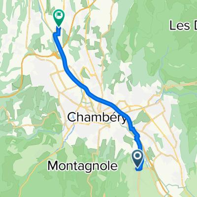 De 350 Clos du Prieuré, Saint-Baldoph à 40 Rue de la Françon, Voglans