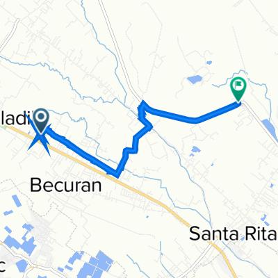 Provincial Road 1047, Santa Rita to Unnamed Road, Santa Rita