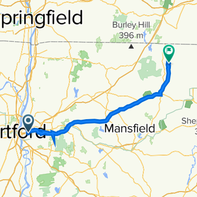Simmons Road 10, East Hartford to Connecticut 197 48, Woodstock