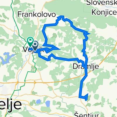 Vojnik-Svetelka-Lokarje-Zicka-Vojnik