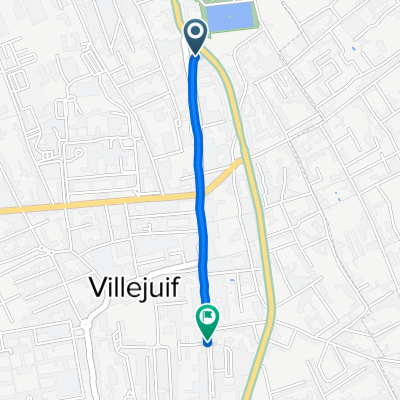 De 8 Boulevard Maxime Gorki, Villejuif à 98 Rue Jean Jaurès, Villejuif