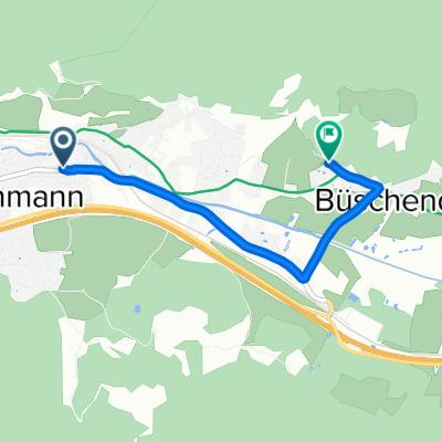 Hauptplatz 28, Rottenmann nach Büschendorf 117, Rottenmann