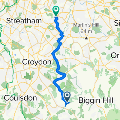 Warlingham to Round Hill 40