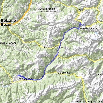 Passo Pordoi - Predazzo - Daiano