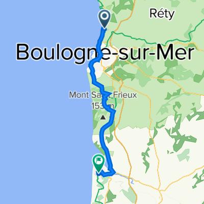 Dag 3 : Wimereux - Le Touquet Plage