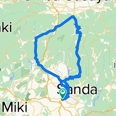 17, Fujigaoka 2-Chōme, Sanda to 17-6, Fujigaoka 2-Chōme, Sanda