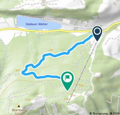 Blombergrennen - Strecke Jugend