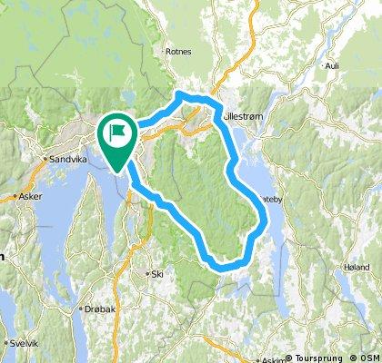 Østmarka round tur