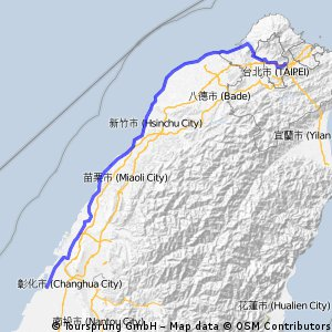 環島Day1台北內湖-彰化鹿港