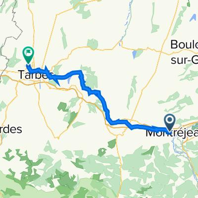 Montréjeau - Bordères sur l'Echez