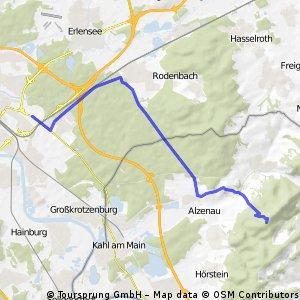 My favorite Hanau ride