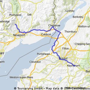 Bristol to CWMBRAN - Day 5