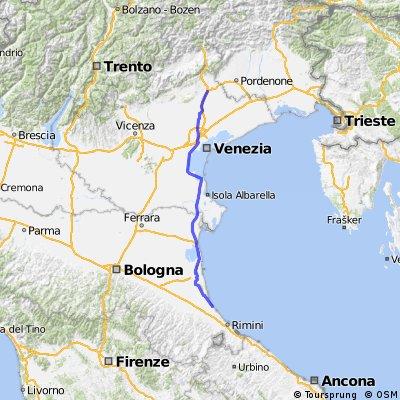 Tappa 17 : Cesantico - Conegliano