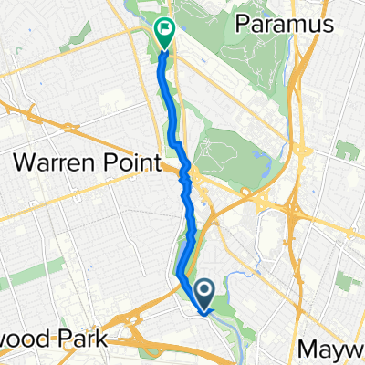 400 Saddle River Rd, Rochelle Park to Century Rd, Fair Lawn
