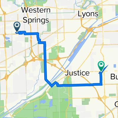 4 S Washington Cir, Hinsdale to 7349 W 79th Pl, Bridgeview