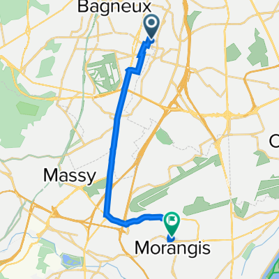 De 72 Rue Jean Roger Thorelle, Cachan à 4 Rue Barbara, Morangis