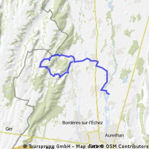 l20 premiers kil triathlon tarbes / 25km