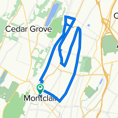 75 Valley Rd, Montclair to 73 Valley Rd, Montclair