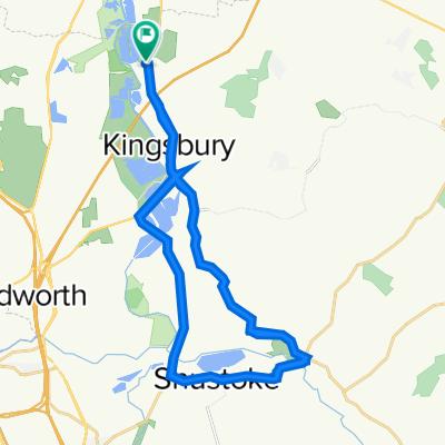 kingsbury route