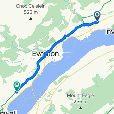 Route from 2 Davis Dr, Alness