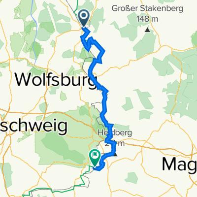 Braunschweiger Straße 20, Brome nach L652, Schöningen